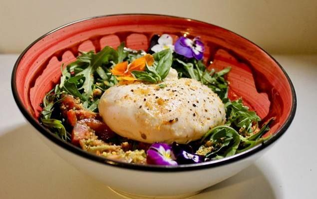 Burrata, una de las novedades. Foto cedida.