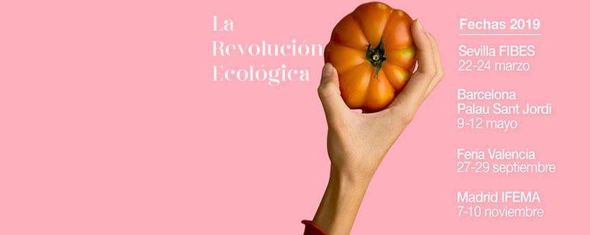 Del 22 al 24 de marzo. Sevilla. Feria de Productos Ecológicos y Consumo Responsable.