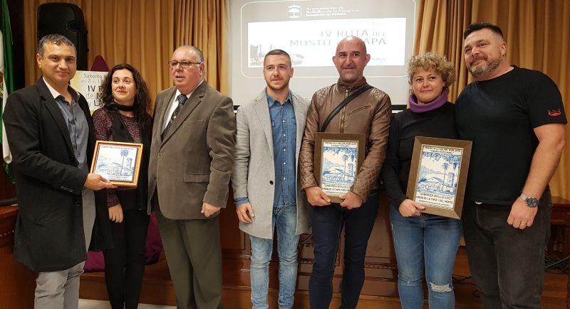 Bar Cuna y Tapería Caballo Loco, ganadores de la IV edición de la Ruta del Mosto y de la Tapa de Bollullos de la Mitación