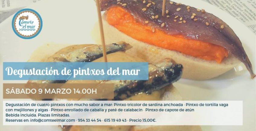 9 de marzo. Sevilla. Degustación de pintxos del mar