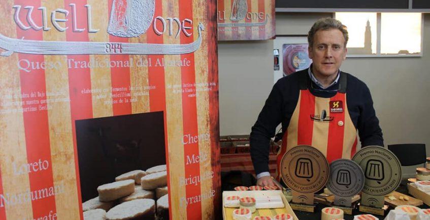 El queso Welldone de Espartinas arrasa en el I Concurso Nacional Maestro Quesero