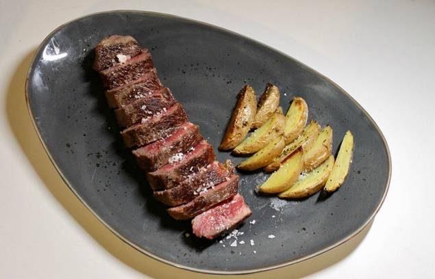 Las carnes, otra de las especialidades. Foto cedida
