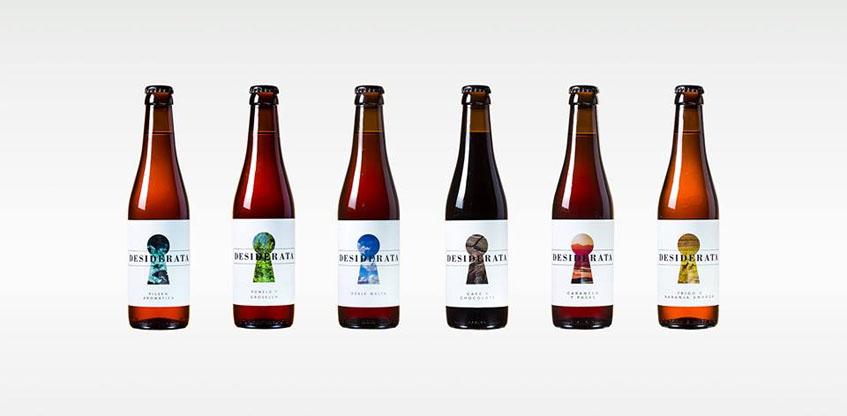 Cervezas de Desiderata. Foto: Cedida por la empresa.