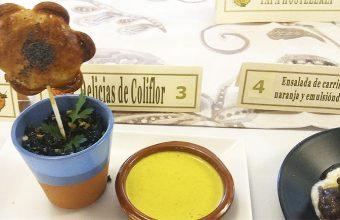 La original tapa con coliflor de La Taberna del Truji. Foto: Cosasdecome