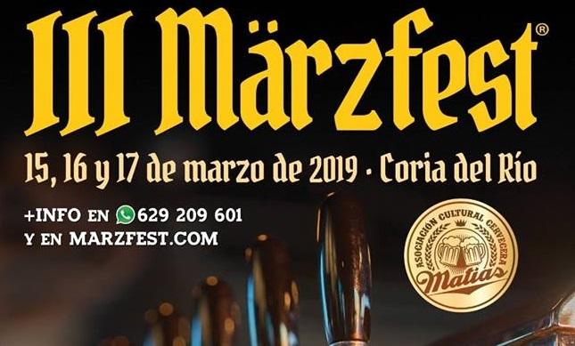 Coria del Río acoge la III edición del Festival Internacional de Cerveza 'Marzfest'