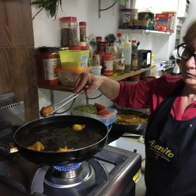 Fritura tarbina. Ingredientes receta tarbina. Foto: CosasDeComé.
