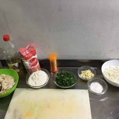 Ingredientes receta tarbina. Foto: CosasDeComé.