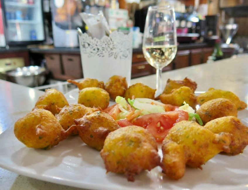 Tarbinas elaboradas en la Cafetería Bar Portillo. Foto: CosasDeComé