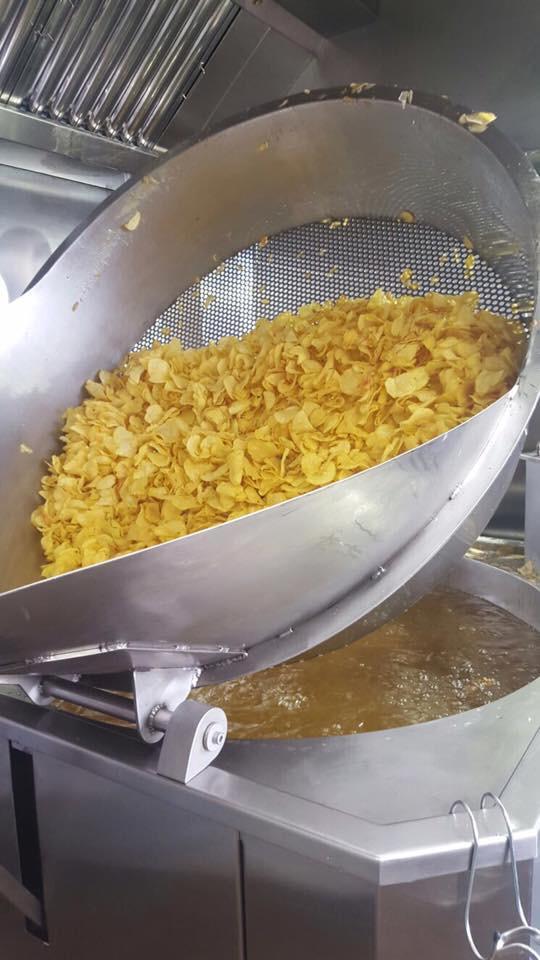 Patatas recién fritas en el establecimiento. Foto cedida por el establecimiento.