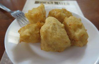 El bacalao frito de la bodega Mateo Ruiz
