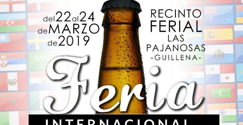 Del 22 al 24 de marzo. Guillena. Feria Internacional de la Cerveza en las Pajanosas