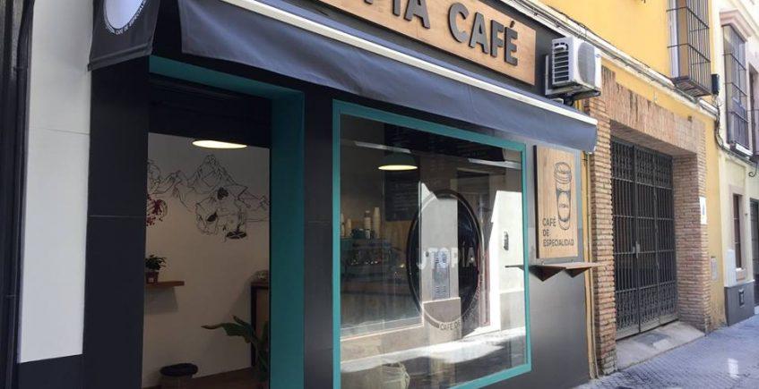 Utopía, café de especialidad para llevar y adquirir en grano en el centro de Sevilla