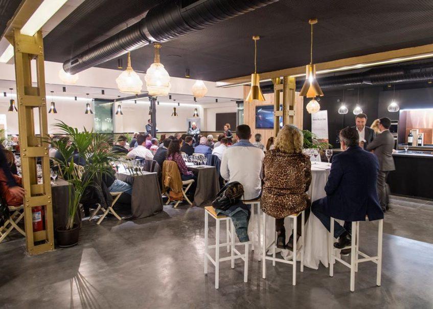Evento empresarial integrado en las cocinas de The Food Club. Foto: CosasDeComé.