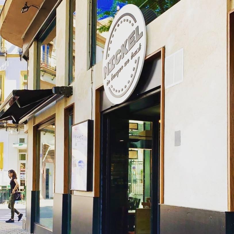 Ubicación de Nickel en la Alameda, esquina con la calle Amor de Dios. Foto cedida por el establecimiento.