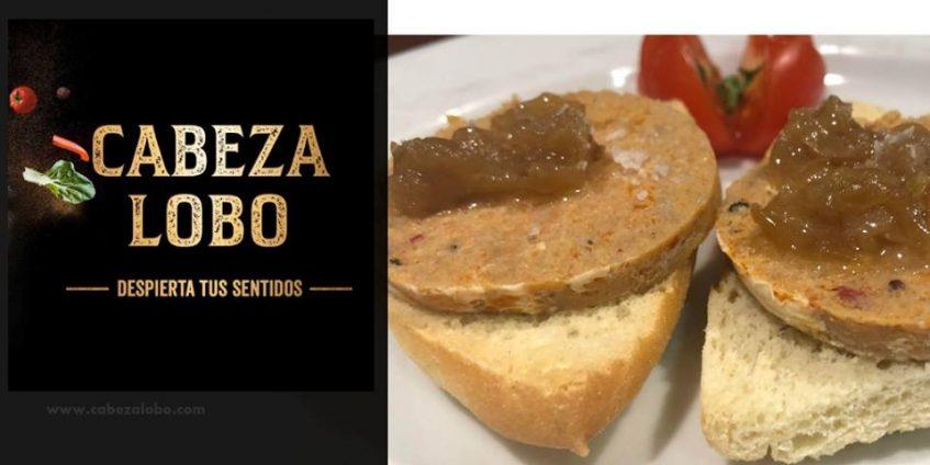 Chorizo de atún embutido servido en el restaurante de Luis Portillo. Foto cedida por la empresa.