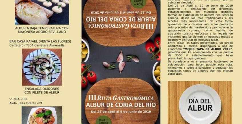 Coria del Río celebra la III Ruta Gastronómica dedicada al albur