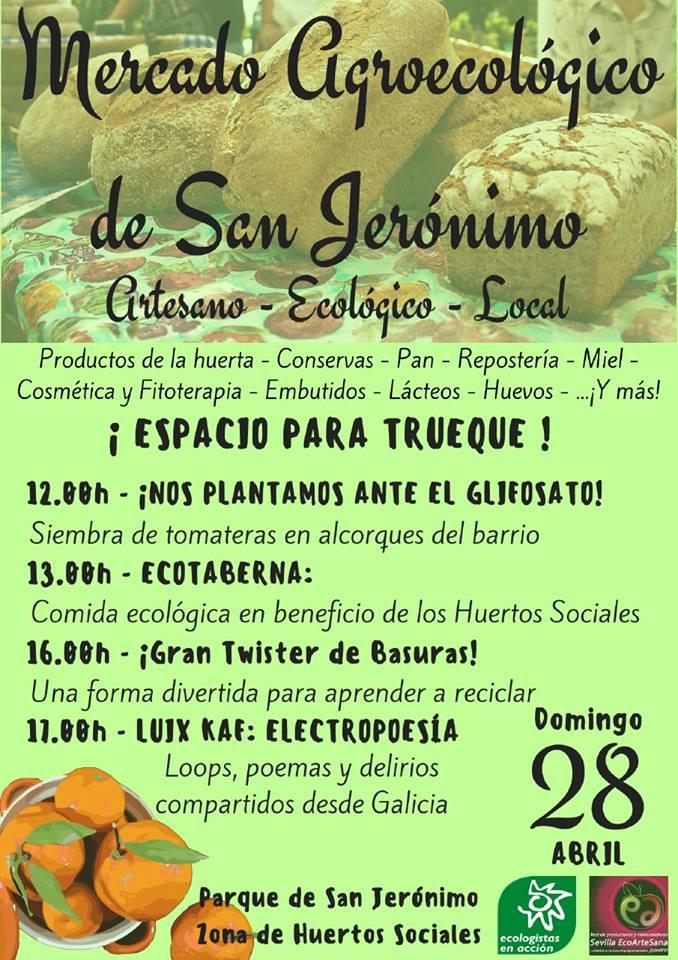 28 de abril sevilla mercadillo agroecol gico en san - Mercadillos sevilla domingo ...