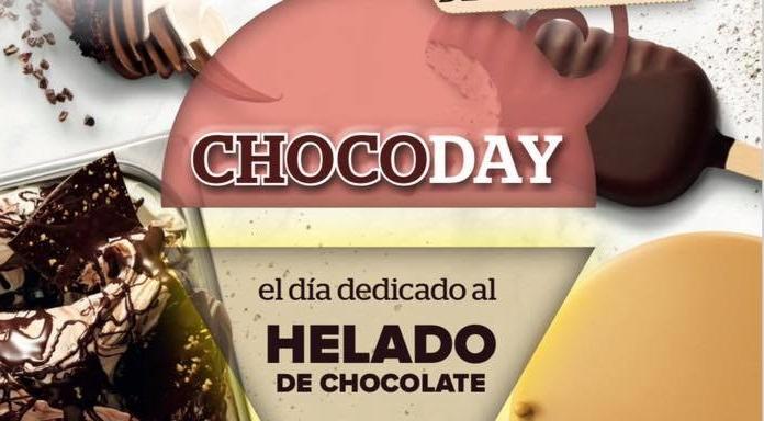 26 de abril. Sevilla. Día del helado de chocolate.