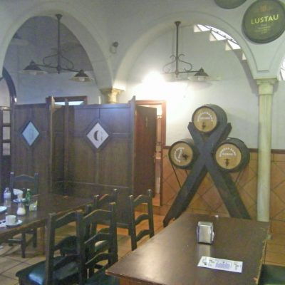 Interior del Mesón Castellano Casa Soria. Foto: Cosasdecome