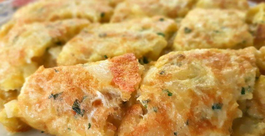 La tortilla de patatas de Hostería El Laurel