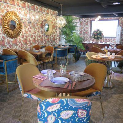 El salón versallesco y dramático de Burro ocupa el segundo piso. Foto: Cosas de Comé.
