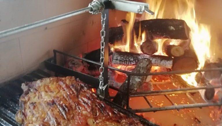 El verdadero asado argentino, calmado y a la vista