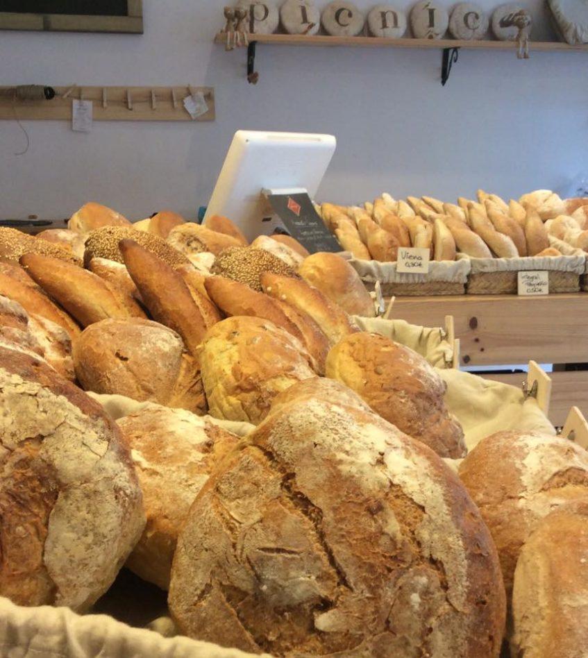 Algunos de los panes que se elaboran en Picnic. Foto cedida por el establecimiento.