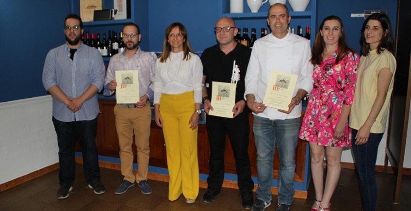Bar las Tinajas, restaurante Villalón y taberna Cal Viva, ganadores de la III Ruta Gastronómica de Morón