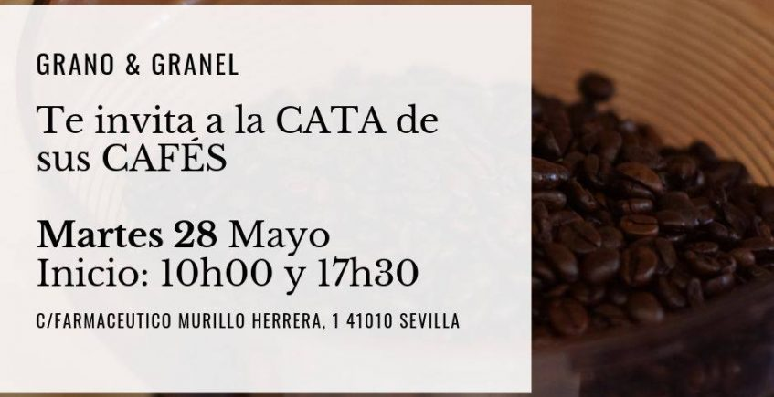 Cata de café. 28 de mayo. Sevilla