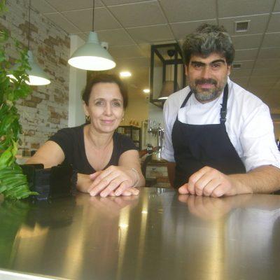Ana Chacón y Adelinto Guerreiro, los propietarios