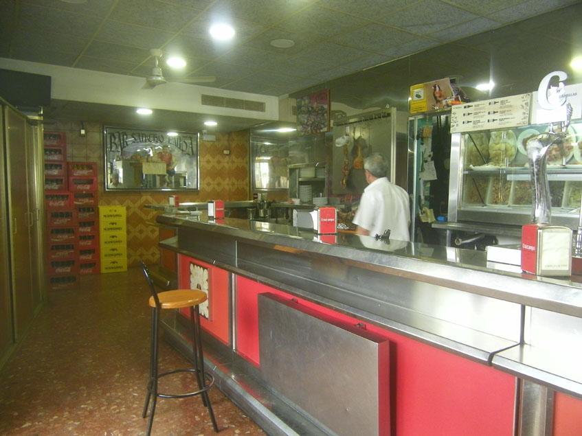 La barra del Sancho Panza. Foto: Cosasdecome