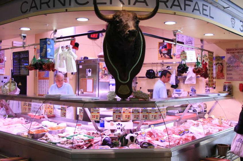 Carnicería Casa Rafael. Foto: Cedida por el mercado de La Encarnación
