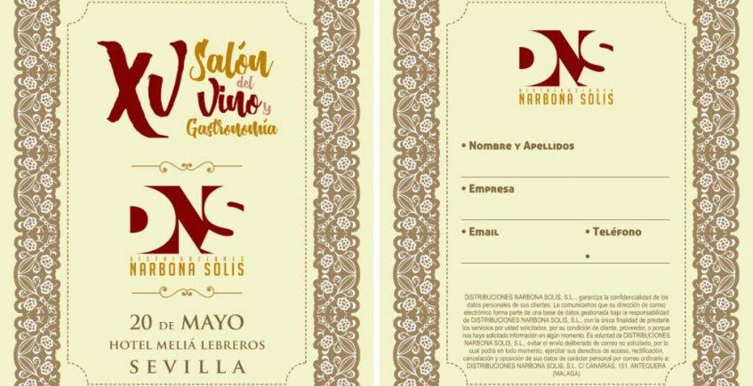 Sevilla se estrena como sede del XV Salón del Vino y Gastronomía Narbona Solís