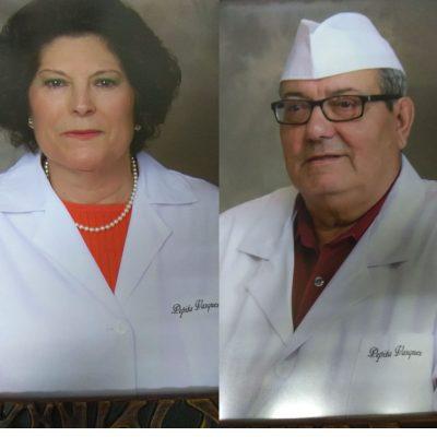 Pepita Vázquez y Antonio Egea, los fundadores de la pastelería. Foto: Cedida por el establecimiento