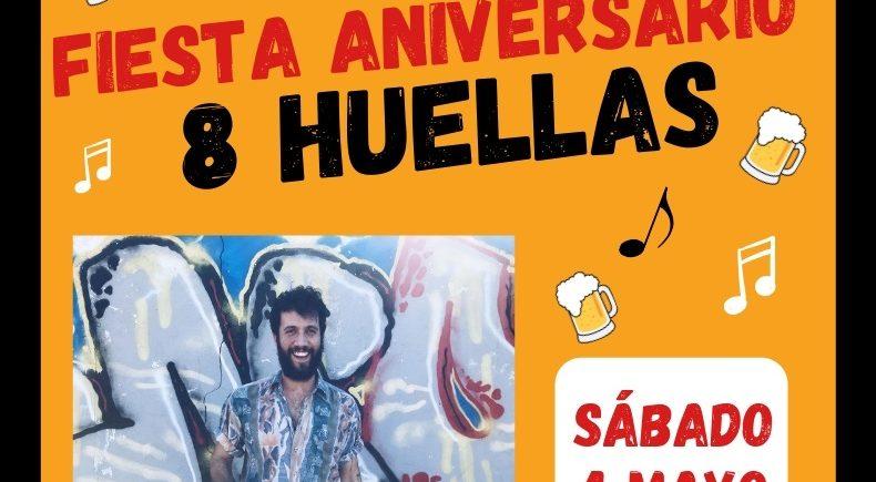 4 de mayo. Los Palacios y Villafranca. Aniversario cerveza 8 Huellas.