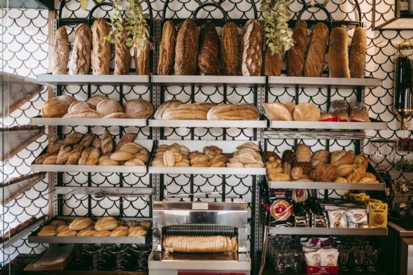 El pan de Buongiorno, también artesanal y elaborado por la empresa local Obando. Foto cedida por el establecimiento.