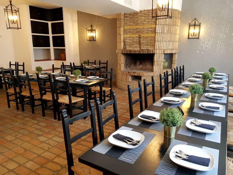 Comedor interior de la Cocina De Mi Suegra. Foto cedida por el establecimiento.