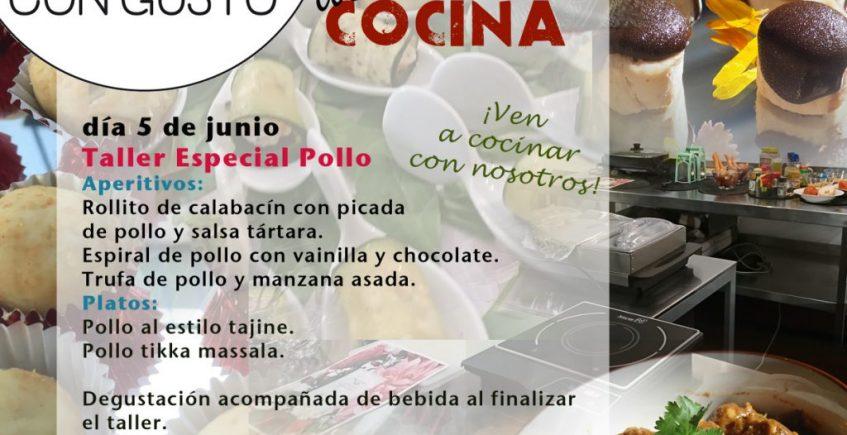 Taller de cocina de pollo. 5 de junio. Sevilla.