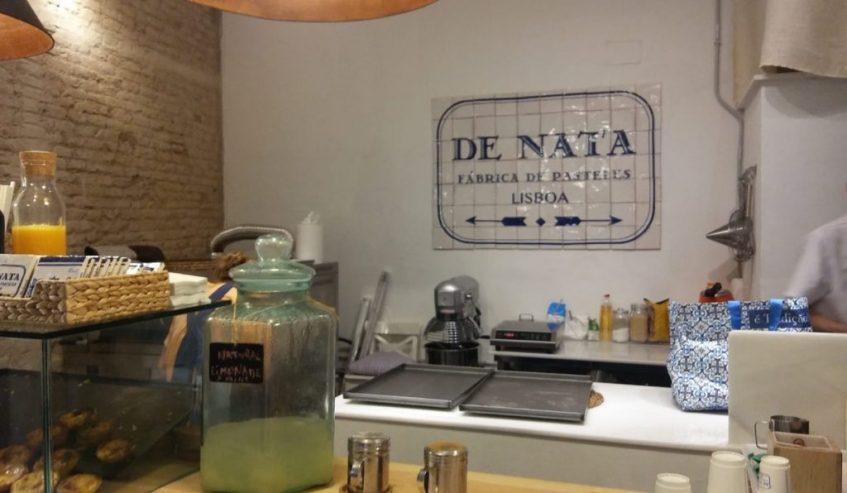 Interior de las instalaciones de De Nata. Foto: CosasDeComé.