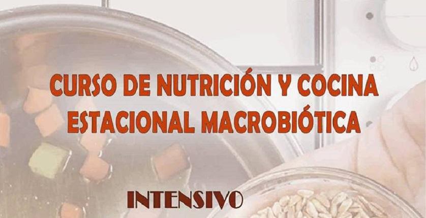 Curso Nutrición y Cocina Estacional Macrobiótica. Del 20 al 23 de junio. Sanlúcar la Mayor.