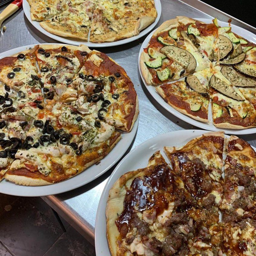 """Las pizzas forman parte de la llamada """"comida callejera"""" por los hermanos Maqueda. Foto cedida por el establecimiento."""