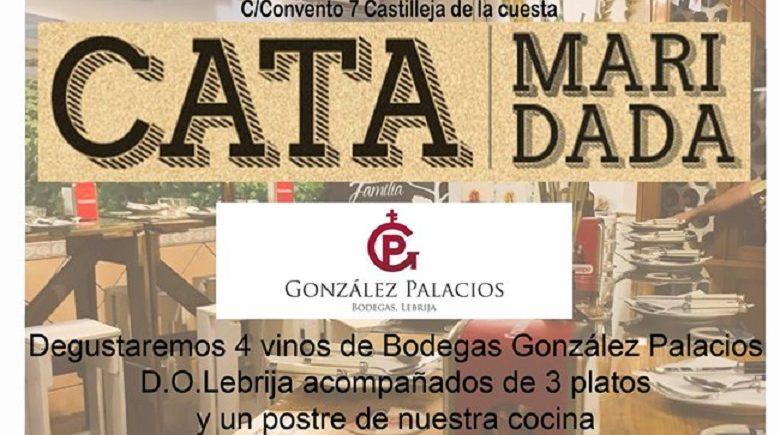 Cata maridada Bodegas González Palacios. 28 de junio. Castilleja de la Cuesta.