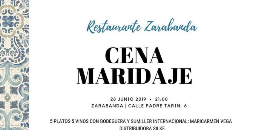 Cena maridada. 28 de junio. Sevilla