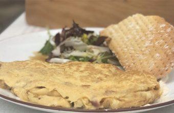 Tortilla meneona del restaurante Hispania. Foto: Cedida por el establecimiento