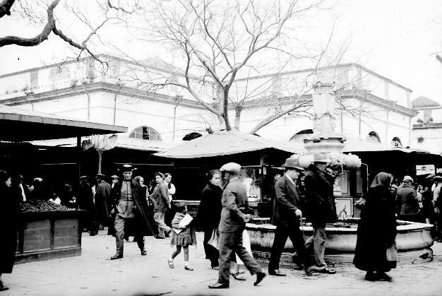 El mercado se fundó en el siglo XIX. Foto cedida por la asociación de comerciantes.