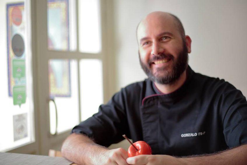 Gonzalo Fernández, chef y propietario de Edición Limitada. Foto cedida por el establecimiento.