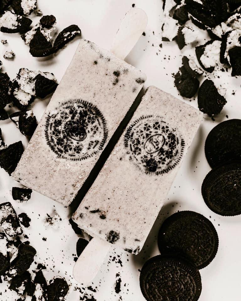 Los de oreo, tarta de queso o turrón se encuadran en los paliques de crema. Foto cedida por el establecimiento.