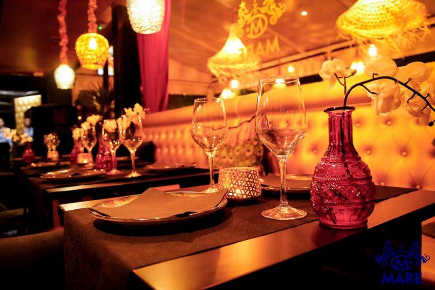 La carta de Mare puede consumirse tanto en la terrraza como en su elegante salón interior. Foto cedida por el establecimiento.