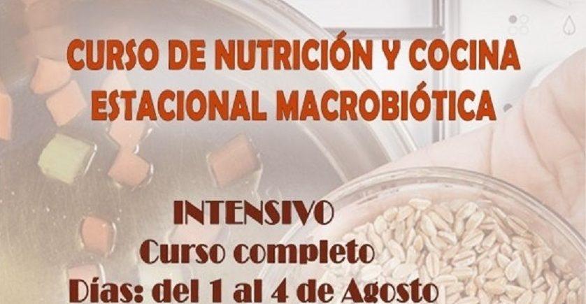 Curso intensivo de Macrobiótica. Del 1 al 4 de agosto. Sanlúcar la Mayor.