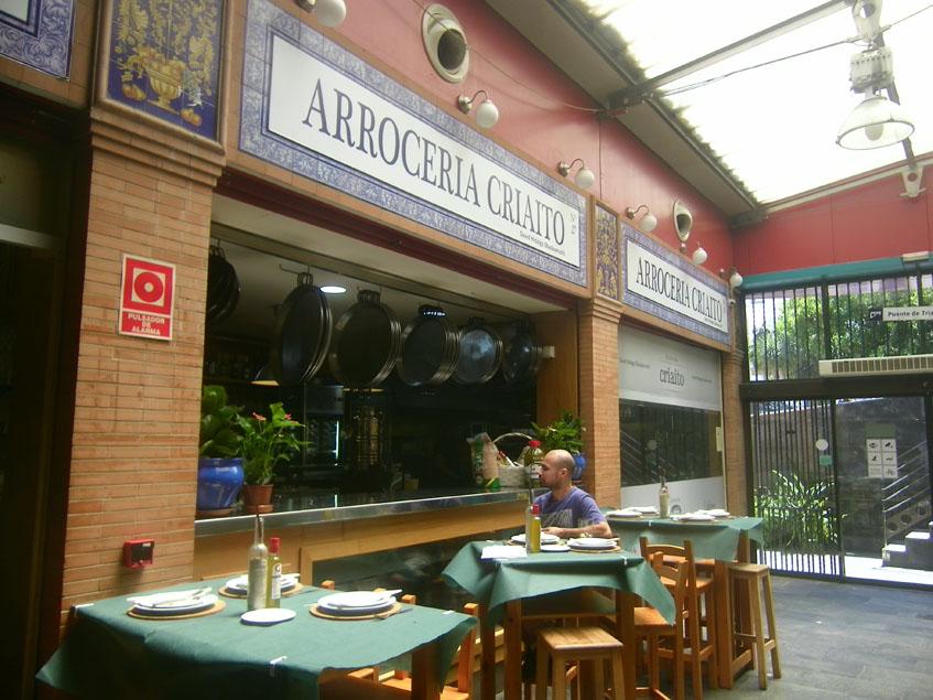 Desde algunas de las mesas de Criaito se puede ver la cocina. Foto: Cosasdecome